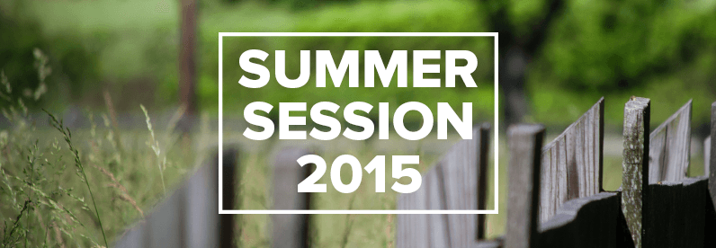 Summer Session 2015