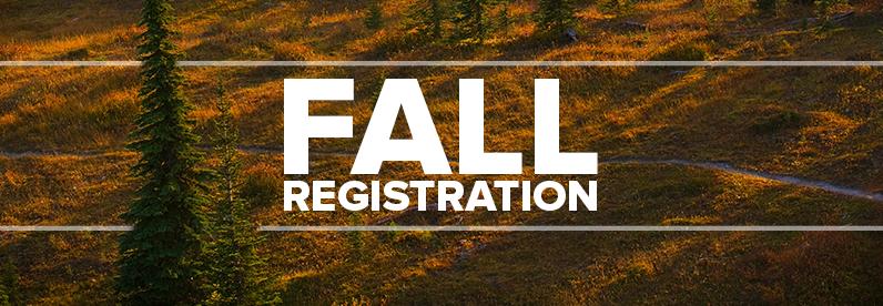 Fall 2016 Registration