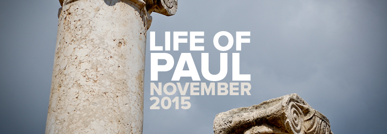 Block Class: Life of Paul with Greg Bartlett (November 9-14, 2015)