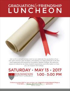Graduation & Friendship Luncheon