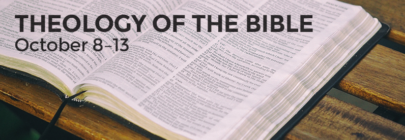 Theology of the Bible with Dr. Layton Talbert (Block Class: October 8-13, 2018)