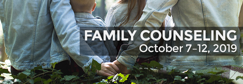 Family Counseling with Dr. Michael Miller (Block Class: October 7-12, 2019)
